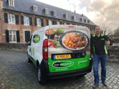 Maarten Knibbeler verovert de regio Parkstad en de gemeente Beekdaelen met maaltijdbezorging van Eten met gemak