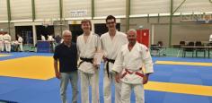 Sem van Horssen geslaagd voor eerste Dan judo